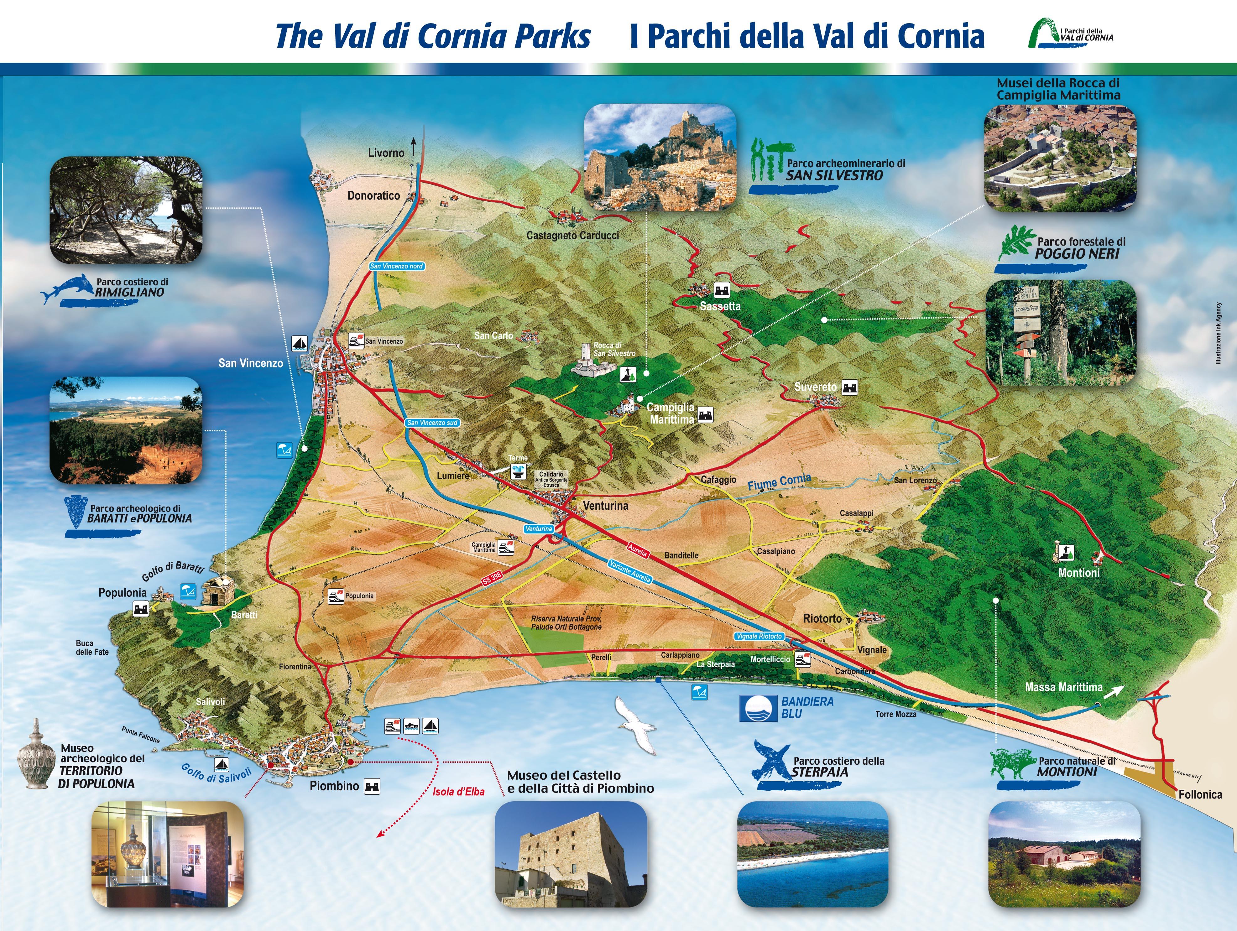 Die Val di Cornia Parks